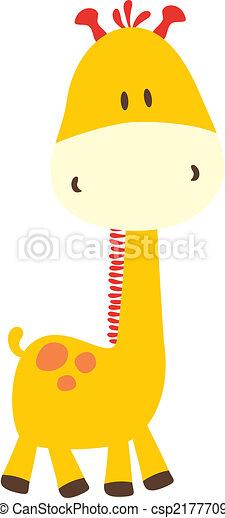 childish giraffe - csp2177709
