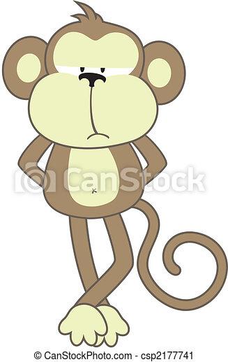 sober monkey - csp2177741
