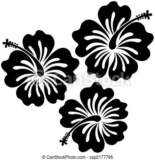 hibiscus sticker - csp2177795