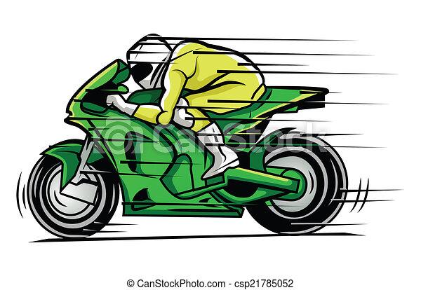 vecteur clipart de course moto moto course csp21785052 recherchez des images graphiques. Black Bedroom Furniture Sets. Home Design Ideas
