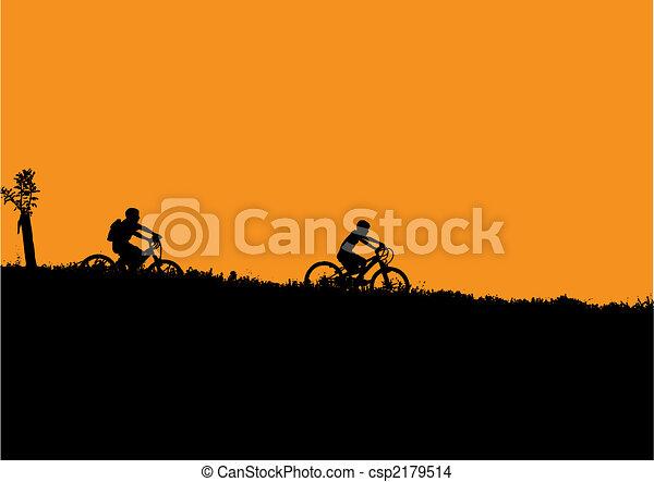 bicycle kids - csp2179514