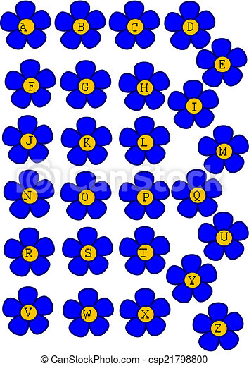tiny blue flowers clip art � cliparts