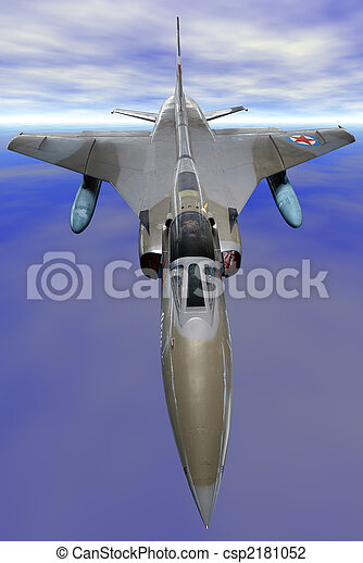 military fighter - csp2181052