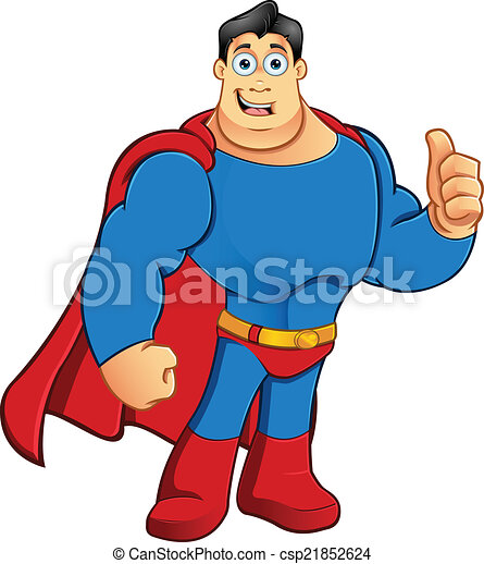 Superhero - Thumbs Up - csp21852624