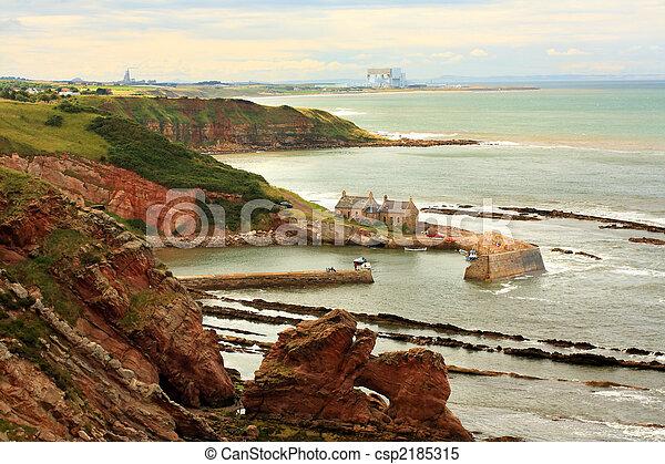 Cove Bay, Scotland - csp2185315
