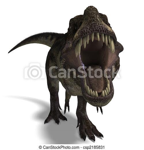 Tyrannosaurus rex - csp2185831