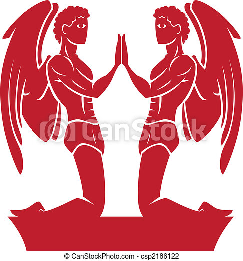 Gemini Zodiac/Horoscope Symbol - csp2186122