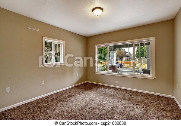 Stock de fotos de beige vac o habitaci n marr n for Cuarto piso pelicula