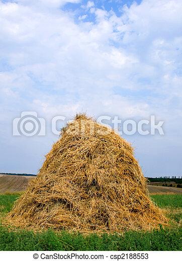 haystack hay straw - csp2188553