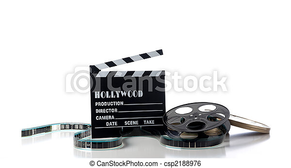 Hollywood Movie Items - csp2188976