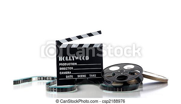 Hollywood Movie Items - csp2188976
