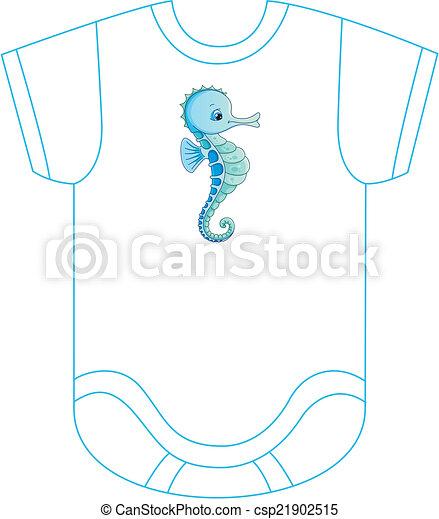 body-seahorse - csp21902515