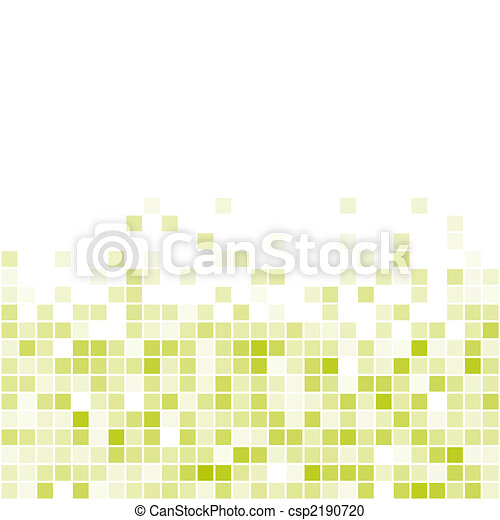 Vector Seamless Green Tiles - csp2190720