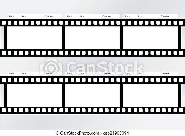 Streifen Schablone Film Streifen Schablone