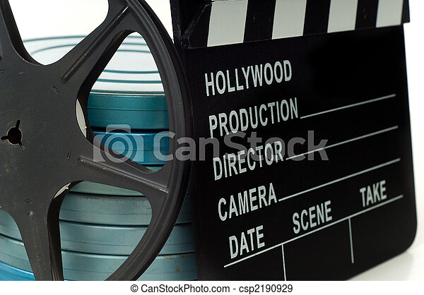 Movie Clapboard - csp2190929