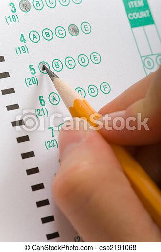 Taking an Exam - csp2191068