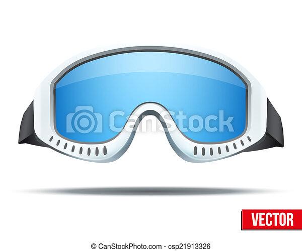 Ski Goggles Vector Classic Snowboard Ski Goggles