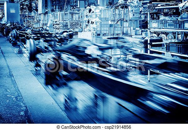 Automobile manufacturing plant - csp21914856