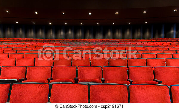Concert Hall seating - csp2191671