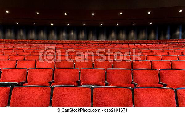 Concert Hall seating - csp2191671