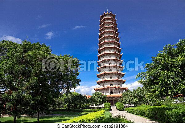 Chinese pagoda - csp2191884