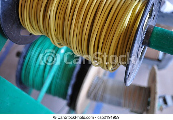 Rolls of Electrical Wire - csp2191959
