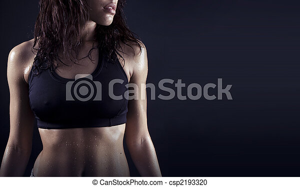 beautiful fitness body - csp2193320
