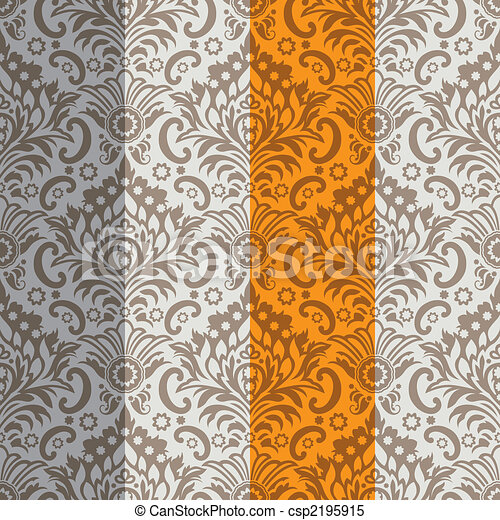 Seamless Classic Wallpaper Background - csp2195915