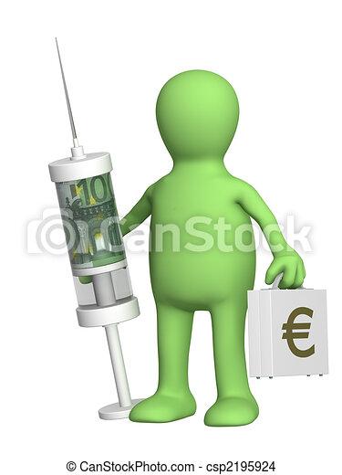 Emergency financial help - csp2195924
