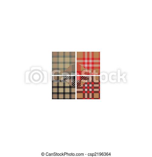 textile seamless pattern set  - csp2196364