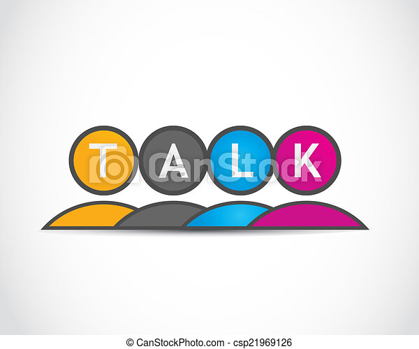 Social Media Talk Group - csp21969126