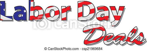 Labor Day Deals - csp21969684