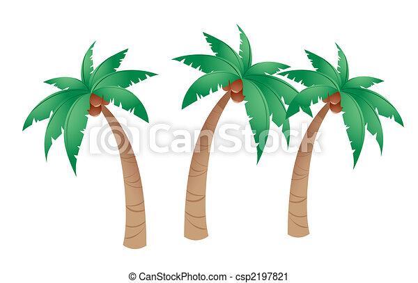 Coconut tree - csp2197821