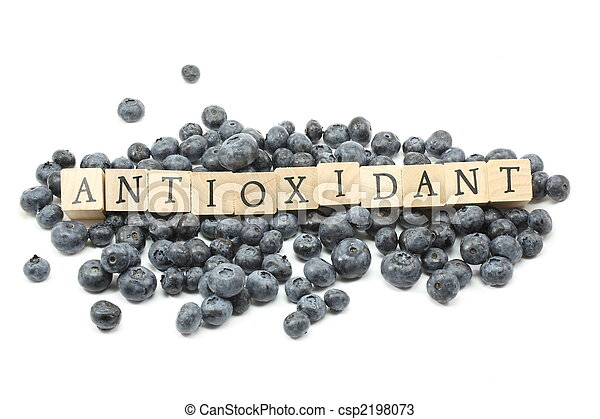 Antioxidant Blueberries - csp2198073