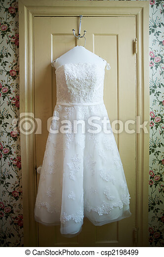 Wedding Dress - csp2198499