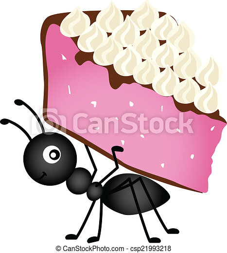 Ants In A Line Clip Art Vector Clip Art of Ant...