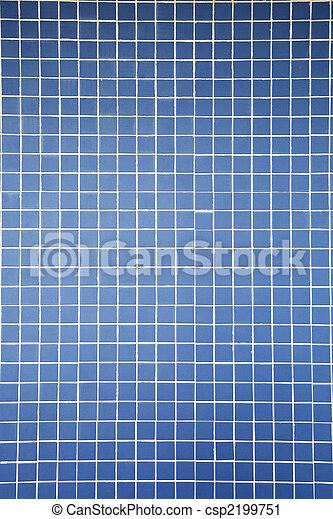 blue color tiles