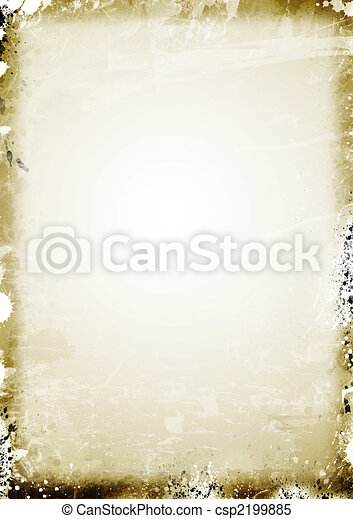 Old parchment paper background - csp2199885