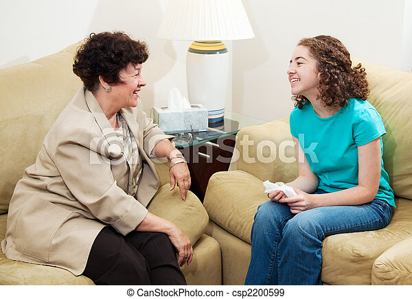 Counseling - Friendly Conversation - csp2200599