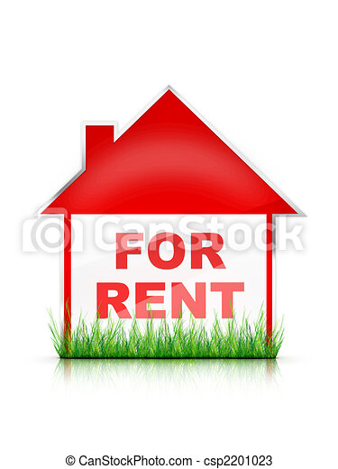 For Rent Sign - csp2201023