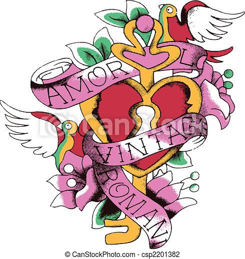 Lovely bird emblem - csp2201382