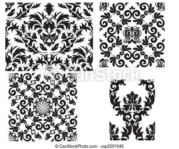 damask seamless pattern - csp2201545