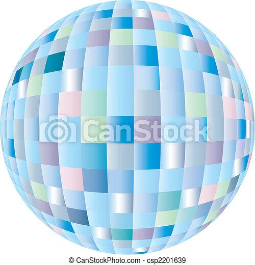 disco sphere - csp2201639
