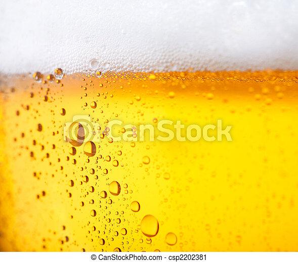 Cold beer - csp2202381