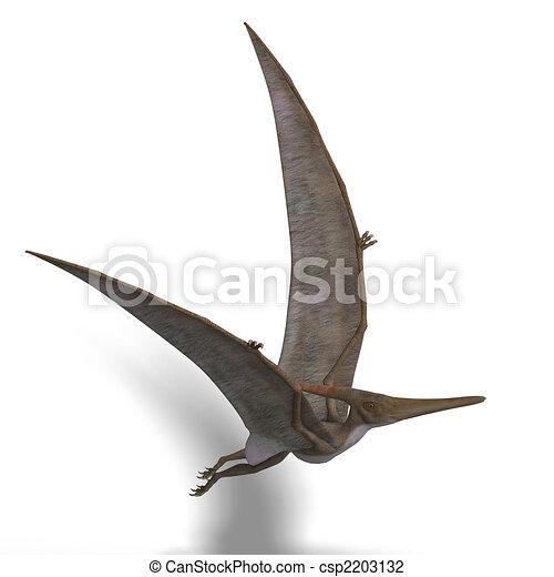 Dinosaur Pteranodon - csp2203132