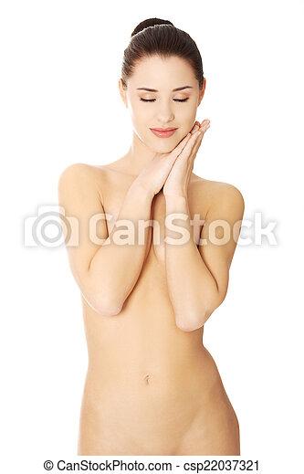 Beautiful spa woman - csp22037321