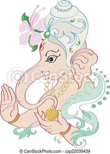 Ganesha The Lord Of Wisdom - csp22039439