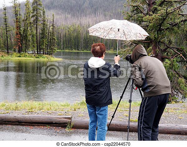 Taking Photos in the Rain