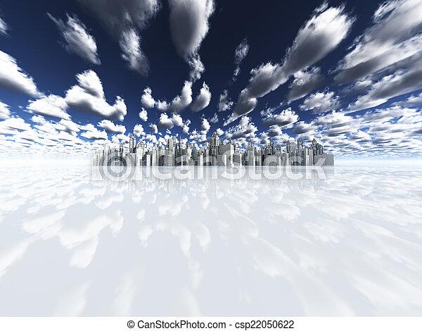 distant city - csp22050622