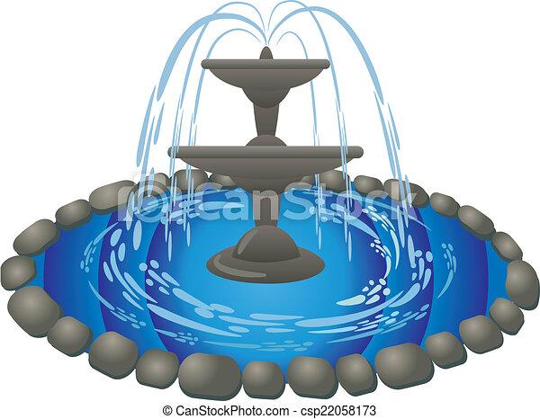 fountain - csp22058173